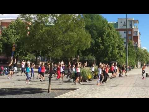 stockholmtoday free outdoor zumba class