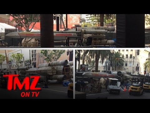 The X-Wings Have Arrived!! | TMZ TV