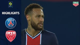 PARIS SAINT-GERMAIN - DIJON FCO (4 - 0) - Highlights - (PSG - DFCO) / 2020-2021