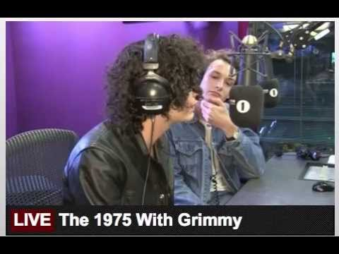The 1975 // BBC Radio 1 Breakfast Show with Grimmy 15th October 2015  (part 1)