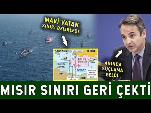 Mısır Türkiye'yi Karşısına Alamadı! Yunanistan'ı Korku Sardı!