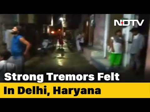 Delhi Earthquake: Strong Tremors For Many Seconds After 4.6 Magnitude Quake In Haryana