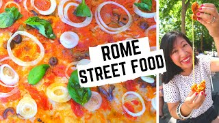 STREET FOOD in ITALY | What to eat in ROME | ROME street food tour