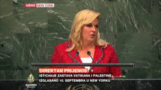 Kolinda Grabar-Kitarović pred UN-om