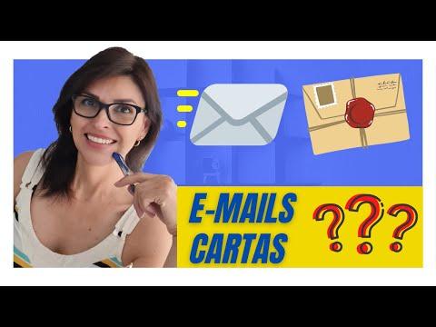 Como escrever e-mails em português?