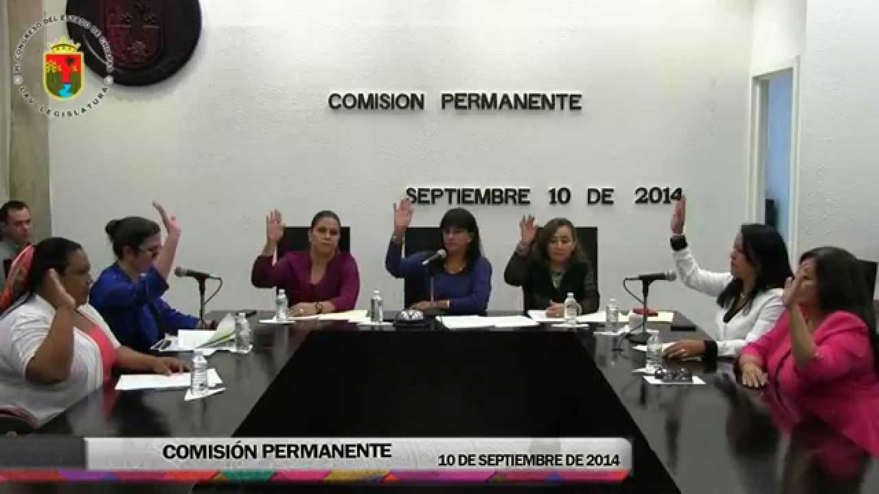 Comisión Permanente 10 de Septiembre de 2014