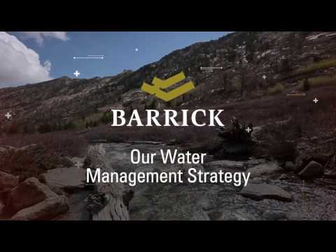 Raising the bar on water management at Barrick