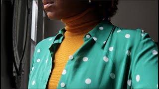 SPRING STYLE TRICKS:  HOW TO WEAR SILK, KNITWEAR &  BLACK!!