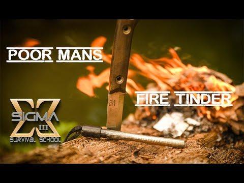 Poor Man's Fire Tinder
