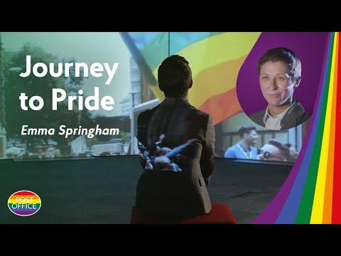 Journey to Pride: Emma Springham from Post Office shares her story