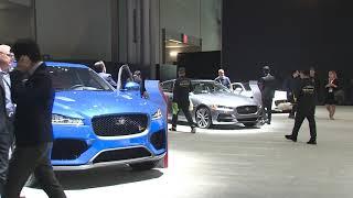 Jaguar Land Rover at the NYIAS 2019