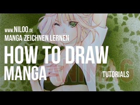 HOW TO DRAW MANGA - zeichnen lernen