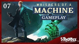 Whispers of a Machine Gameplay: Post-Apocalyptic Detective Game |  Part 7 Where to find Katarina?