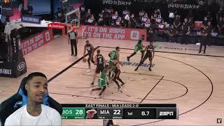 FlightReacts Celtics vs Miami Heat - Full ECF Game 3 Highlights   September 19, 2020 NBA Playoffs!