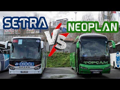 Setra VS Neoplan | 516 HD & Neoplan Tourliner | Hangisi Daha İyi ?