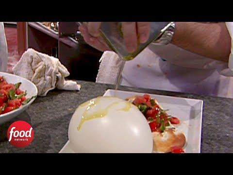 Iron Chef Gauntlet | Mozzarella Balloon | Food Network