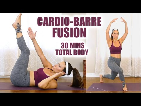 Meet Monica! Cardio-Barre Fusion for Fast Fat Burning, Total Body Workout, Ballet Inspired, 30 mins