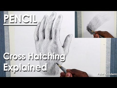 Cross Hatching Technique Explained | Hand Drawing in Cross hatching