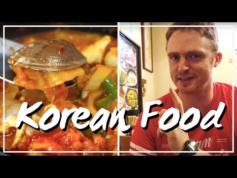 Eating Korean Food in Osaka, Japan