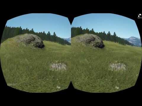 Outerra + Oculus Rift Test 1