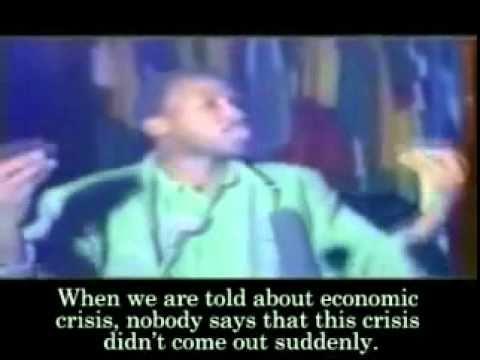 Burkina Faso President Thomas Sankara\'s \'Against debt\' speech 1987 Part 1