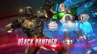 Marvel vs. Capcom: Infinite - Black Panther és Sigma Játékmenet Trailer