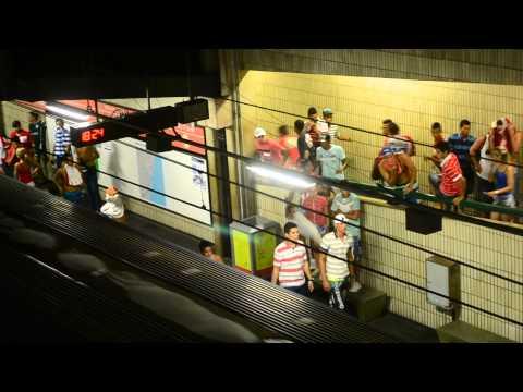 Briga entre torcedores do Náutico x Santa Cruz - 23/03/2014