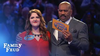 The Minks play Fast Money! | Family Feud