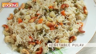 Vegetable Pulav | Home Cooking
