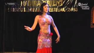 Jasirah - drum solo - ODF gala show 2016