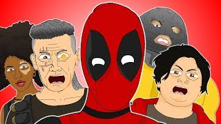 ♪ DEADPOOL 2 THE MUSICAL - Animated Parody Song