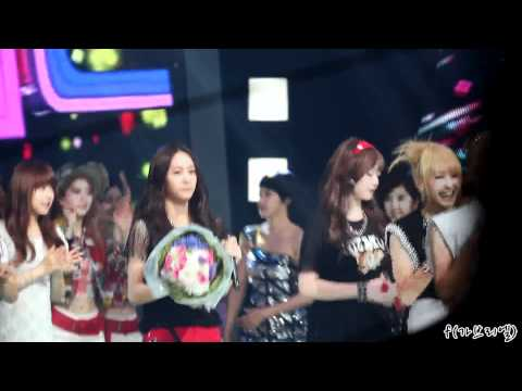 120708 F(x) inkigayo encore with Super Junior.mp4