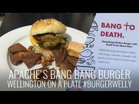 Apache's Bang Bang Burger #BurgerWelly #WellyOnAPlate