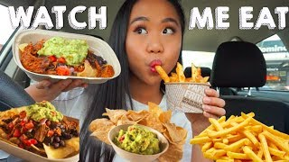 MEXICAN FOOD MUKBANG! Watch Me Eat | THERESATRENDS