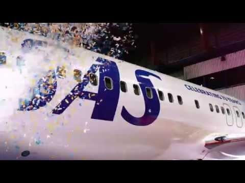 Presenting SAS70 Livery - Boeing 737-800 LN-RGI