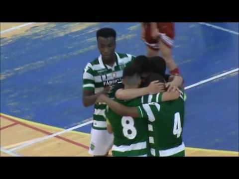 15/16 Golos 1ºJogo Final - Campeonato Nacional Sub20 - Caxinas 2 vs SCP 5