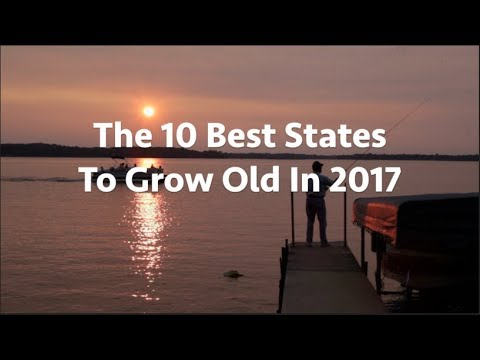 These are the 10 best states to grow old, according to Caring.com
