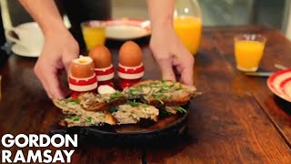 Boiled Eggs With Anchovy Soldiers By Gordon Ramsay
