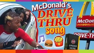 LMAO: Man & Backup Singers Perform In Mcdonalds Drive Thru