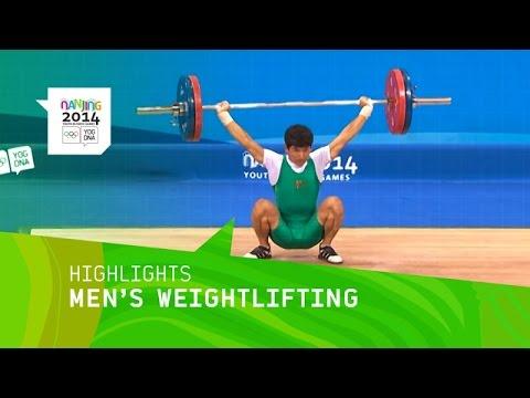 Jongju Pak Wins 62kg Weightlifting Gold - Highlights | Nanjing 2014 Youth Olympic Games
