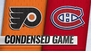 02/21/19 Condensed Game: Flyers @ Canadiens
