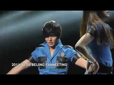 20111205 Lee Min Ho Beijing Fanmeeting - DANCE