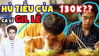 Hai lúa Hàn Quốc đi ăn hủ tiếu mắc nhất Sài Gòn của ca sĩ Gil Lê ???