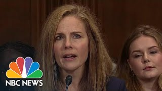 Trump To Nominate Amy Coney Barrett For Supreme Court | NBC Nightly News