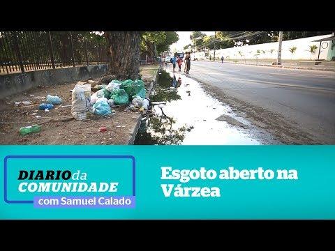 Comerciantes e moradores da várzea pedem por saneamento básico