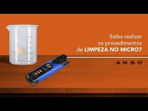 Saiba realizar os procedimentos de limpeza no MICRO7