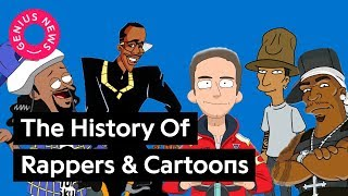 The History of Rappers & Cartoons | Genius News