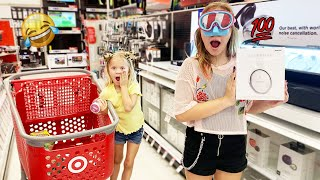 BUYING EVERYTHING I TOUCH IN TARGET!! (Blind folded)