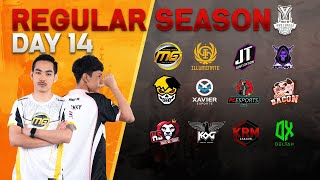 Free Fire Pro League Season 3 : Regular Season Day 14