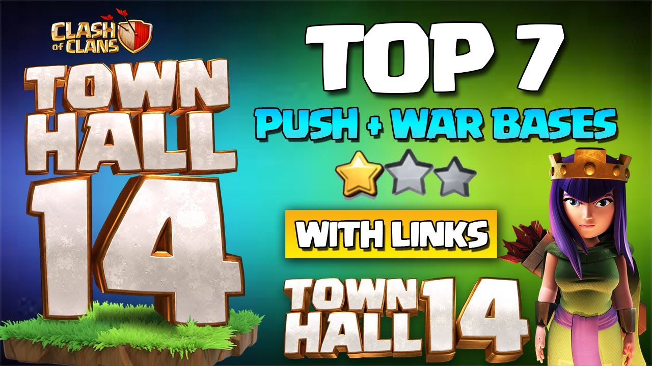 NEW TH14 WAR BASE with link - BEST Town Hall 14 TH14 Pushing BASE - Th14 CWL Base 2021 anti all Coc